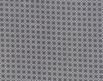 FAT QUARTER | Black Geometric Fabric - Bloomington Fabric - Lella Boutique - Moda Fabrics - Fabric Bundle - Flower Fabric
