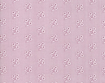 FAT QUARTER | Lollipop Garden Fabric - Purple Sweet Nothings Fabric - Lella Boutique - Moda Fabric - Floral Fabric - Flower Fabric