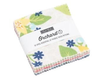 Orchard Mini Charm Pack - April Rosenthal - Moda Fabric - Fabric Bundle - Moda Mini Charm Pack - 42 pieces