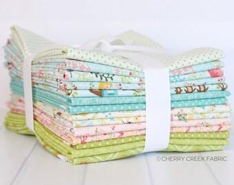 Home Sweet Home Half Yard Bundle - Stacy Iest Hsu - Moda Fabrics - Moda Fabric Bundle - Half Yard Bundle - 14 pieces