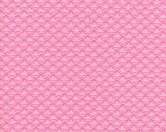 Fat Quarter   Once Upon A Time Fabric - Pink Ruffles Fabric - Stacy Iest Hsu - Moda Fabric - Princess Fabric - Ruffles Fabric
