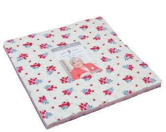 Guest Room Layer Cake - Kristyne Czepuryk - Moda Fabric - Fabric Precut - Moda Layer Cake - 42 pieces