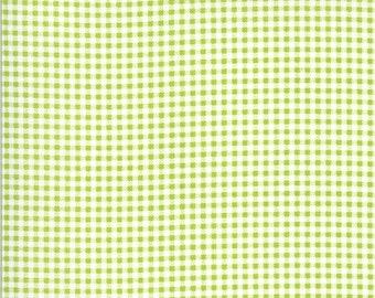Apricot & Ash Fabric - Pistachio Gingham Fabric - Corey Yoder - Moda Fabrics - Geometric Fabric - Gingham Fabric - Sold by the Yard