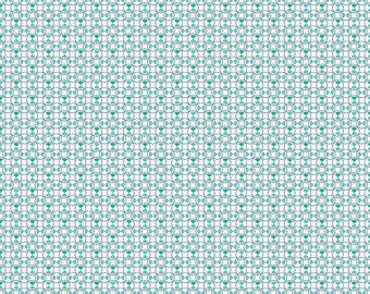 Blue Vintage Geometric Fabric - Vintage Happy 2 - Lori Holt