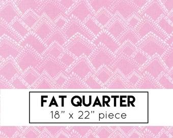 FAT QUARTER | Yucatan Fabric - Pink Mountains Fabric - Annie Brady - Moda Fabric - Pink Fabric - Geometric Fabric