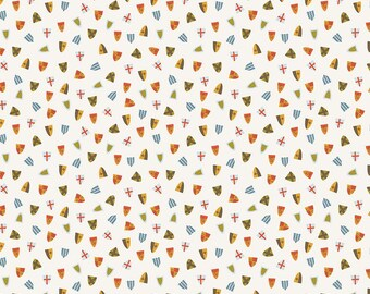 SALE | Lancelot - Cream Shields Fabric - Citrus & Mint - Riley Blake Designs - Sold by the Yard
