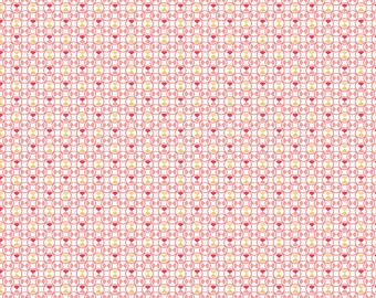 Pink Vintage Geometric Fabric - Vintage Happy 2 - Lori Holt