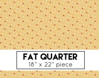 FAT QUARTER | Gretel Fabric - Yellow Wreath Fabric - Amy Smart - Riley Blake Designs - Hansel & Gretel Fabric - Floral Fabric