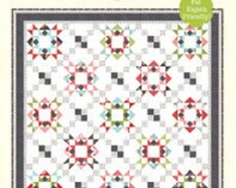 """Reach for the Stars Quilt Pattern - Cotton Way Pattern - Bonnie Olaveson - Bonnie and Camille - Fat Eighths Pattern - 70"""" x 70"""" Quilt"""