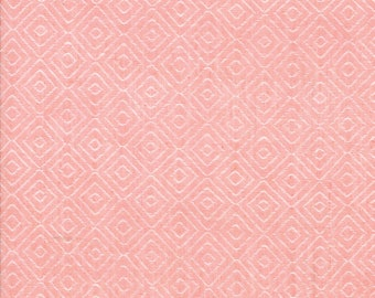 Pink Diamond Woven Fabric - Bonnie and Camille Wovens - Moda Fabric - Geometric Fabric - Woven Fabric - Sold by the Yard