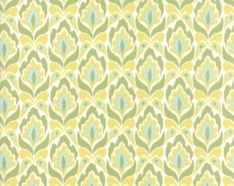 Bungalow Fabric - Lemon Lime Tapestry Fabric - Kate Spain