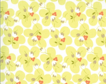 Chantilly Fabric - Green Posies Fabric - Fig Tree & Co - Moda Fabric - Floral Fabric - Flower Fabric - Fabric by the Yard