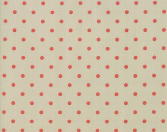 101 Maple Street Fabric - Green Dots Fabric - Bunny Hill Designs - Moda Fabric - Fall Fabric - Autumn Fabric - Sold by the Yard