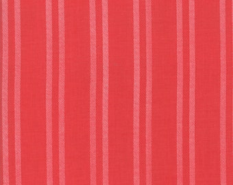 Little Tree Fabric - Red on Red Stripe Fabric - Lella Boutique - Moda Fabrics - Christmas Fabric - Holiday Fabric - Sold by the Yard