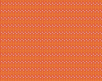 SALE | Lancelot - Red Geo Fabric - Citrus & Mint - Riley Blake Designs - Sold by the Yard