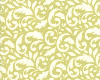 Mistletoe Swirl Fabric - Christmas Figs II Fabric - Fig Tree and Co - Moda Fabric - Holiday Fabric - Swirl Fabric - Sold by the Yard
