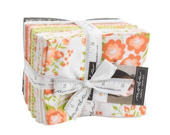 Apricot & Ash Fat Quarter Bundle - Corey Yoder - Moda Fabrics - Fat Quarter Fabric - Floral Fabric - Flower Fabric - 28 pieces