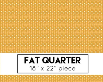 FAT QUARTER | Lancelot - Mustard Geo Fabric - Citrus & Mint - Riley Blake Designs - Geometric Fabric - Yellow Fabric