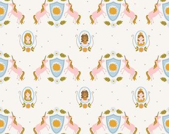 5 Yard Quilt Backing | Guinevere - Cream Main Fabric - Citrus & Mint - Riley Blake Designs