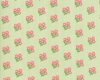Lollipop Garden Fabric - Green Sweet Nothings Fabric - Lella Boutique