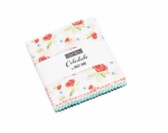 Coledale Mini Charm Pack - Franny & Jane - Moda Fabric - Fabric Bundle - Mini Charm Pack Fabric - Fabric Squares - 42 pieces