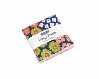 Lazy Days Mini Charm Pack - Gina Martin