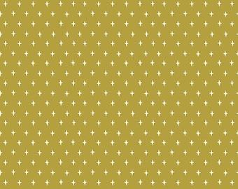 SALE   Lancelot - Green Stars Fabric - Citrus & Mint - Riley Blake Designs - Green Fabric - Stars Fabric - Sold by the Yard