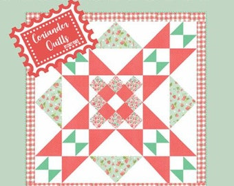 Barn Star 3 Quilt Pattern - Corey Yoder - Moda Fabrics - Charm Pack Pattern - Quilt Pattern - Wall Hanging Quilt