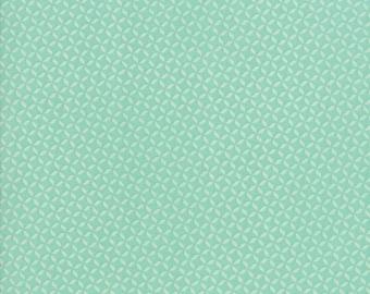 Sunnyside Up Fabric - Turquiose Geometric Fabric - Corey Yoder - Moda Fabrics - Geometric Fabric - Low Volume Fabric - Sold by the Yard
