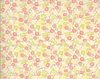 Chantilly Fabric - Grey Floral Lollipops Fabric - Fig Tree & Co - Moda Fabric - Floral Fabric - Flower Fabric - Fabric by the Yard