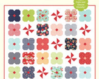 """Wildflowers Quilt Pattern - Cotton Way Pattern - Bonnie Olaveson - Bonnie and Camille - Layer Cake Pattern - 68"""" x 68"""" Quilt"""