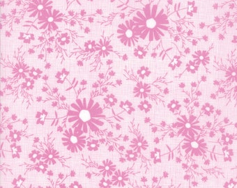 Sunnyside Up Fabric - Lavender Floral Meadow Fabric - Corey Yoder - Moda Fabrics - Floral Fabric - Flower Fabric - Sold by the Yard