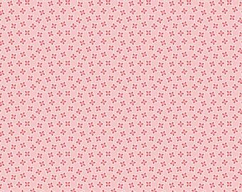 Pink Planter Box Fabric - Vintage Happy 2 - Lori Holt