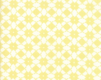 Garden Variety Fabric - Yellow Weave Fabric - Lella Boutique - Moda Fabric - Geometric Fabric - Basketweave Fabric - Sold by the Yard