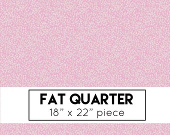 FAT QUARTER | Wild Bouquet Fabric - Pink Bitty Flowers Fabric - Citrus & Mint - Riley Blake Designs - Pink Fabric - Flowers Fabric