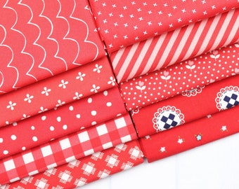 Tan Fat Quarter Bundle - Fabric Bundle - Tan Quilt - Fat Quarter Bundle - Tan Fabric Bundle - 10 pieces