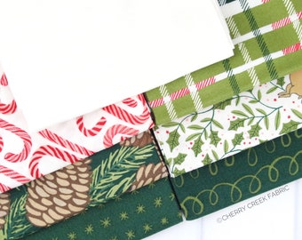 To Be Jolly Green Fat Quarter Bundle - One Canoe Two