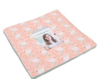 Enchanted Layer Cake - Gingiber - Moda Fabric - Layer Cake Fabric - Enchanted Fabric - Fabric Squares - 42 pieces
