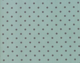 FAT QUARTER | 101 Maple Street Fabric - Aqua Dots Fabric - Bunny Hill Designs - Moda Fabric - Fall Fabric - Autumn Fabric