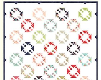 "Irresistible Quilt Pattern - Bonnie Olaveson - Cotton Way - Moda Fabric - Smitten Fabric - 82"" x 82"" Quilt"