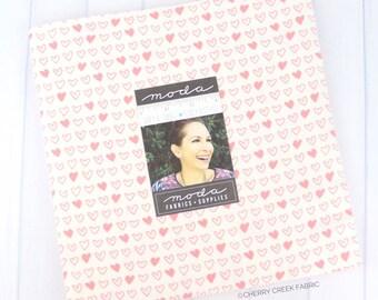 Soft & Sweet Flannel Pink Layer Cake - Stacy Iest Hsu - Moda Fabrics - Fabric Bundle - Flannel Fabric - 20 pieces