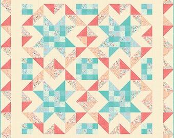 Quilt Pattern - Mama Bear Quilt Pattern - Stacy Iest Hsu - Moda Fabrics - Intermediate Quilt Pattern