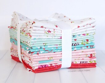 Little Red in the Woods Half Yard Bundle - Jill Howarth - Riley Blake Designs - Fabric Bundle - Half Yard Fabric Bundle - 19 pieces