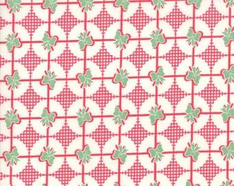 Sweet Christmas Fabric - Red Christmas Present Fabric - Urban Chiks - Moda Fabric - Christmas Fabric - Sold by the Yard