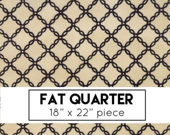 FAT QUARTER | Bewitching Fabric - Tan Halloween Lattice Fabric - Deb Strain - Moda Fabric - Halloween Fabric