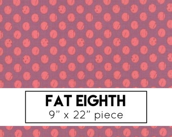 FAT EIGHTH | Lollipop Garden Fabric - Purple Dots Fabric - Lella Boutique - Moda Fabric - Star Fabric - Purple Fabric