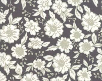 FAT QUARTER | Black Floral Fabric - Bloomington Fabric - Lella Boutique - Moda Fabrics - Fabric Bundle - Flower Fabric