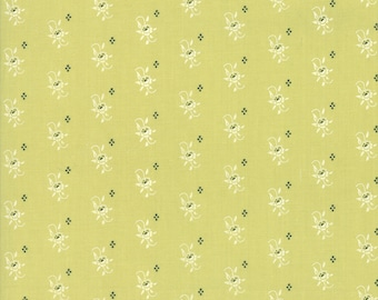 Mistletoe Blooms Fabric - Christmas Figs II Fabric - Fig Tree and Co - Moda Fabric - Holiday Fabric - Floral Fabric - Sold by the Yard