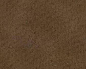 Crackle Fabric - Brown Crackle Fabric - Moda Fabric - Brown Fabric - Fall Fabric - Texture Fabric - Sold by the Yard