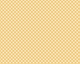 Autumn Love Fabric by Lori Holt for Riley Blake Designs | Yellow Polka Dots Fabric - Sold by the Yard
